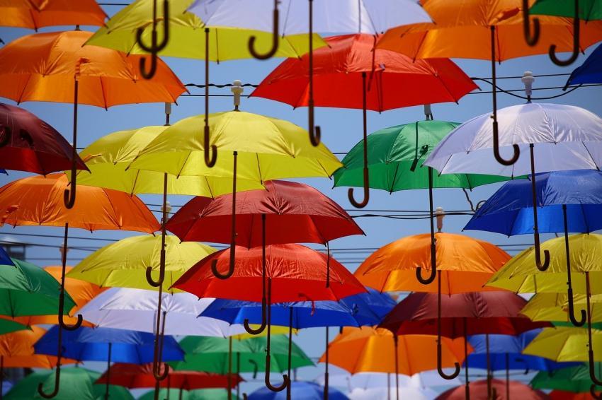 強い風の日でも安心して使える傘「耐風傘」