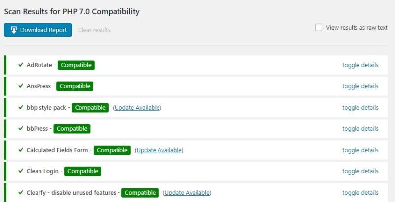 PHPのバージョンアップで現在WordPressで使用しているプラグインが使えるかを検査できるプラグイン「PHP Compatibility Checker」