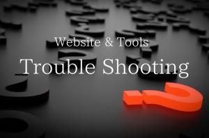 Web-Tool トラブルシューティング