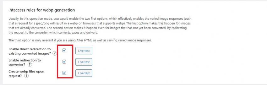 表示可能なブラウザで、軽量なWebP形式の画像を配信してくれるプラグイン「WebP Express」の画像|Knowledge Base